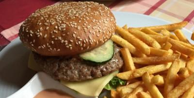 Rasoi, Schlüsselfeld Burgertest, Burger, Burgerladen Mittelfranken